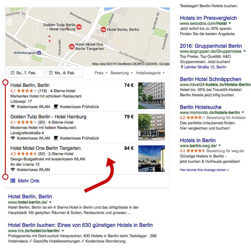 Lokale SEO - Wie Komme ich bei Google auf die erste Seite - Lokale Suchmaschinenoptimierung